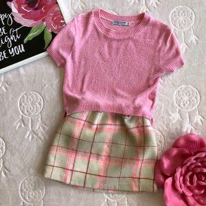 Gap Kids Wool Plaid Lined Skirt
